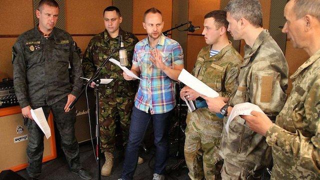П'ятеро бійців АТО записали пісню, давши старт проекту #ПісніВійни