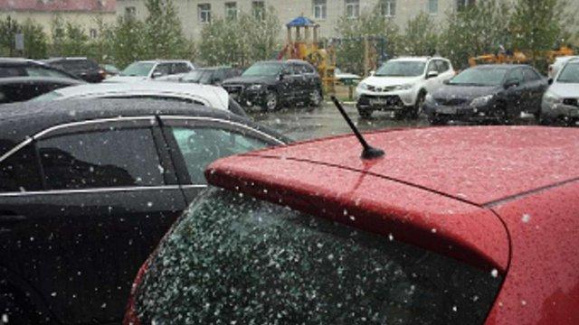 Перший день літа подарував росіянам сніг