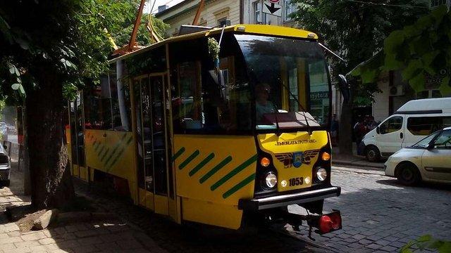 У Львові почались випробування модернізованого трамвая Tatra