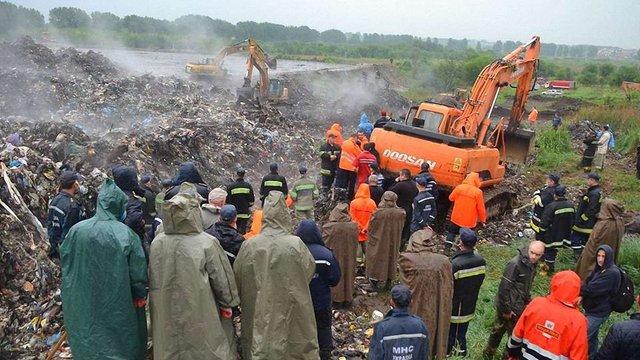 У четвер зранку пошукові роботи на Грибовицькому сміттєзвалищі відновлять