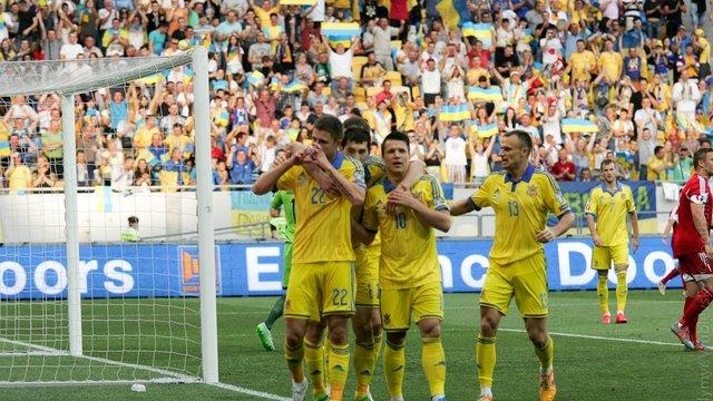 Збірна України піднялась на три позиції у рейтингу ФІФА