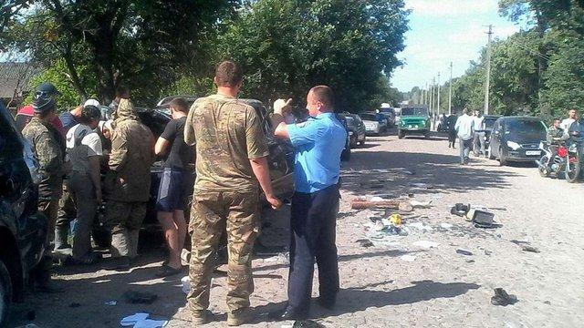 На Житомирщині після стрілянини поліція затримала 9 чоловіків