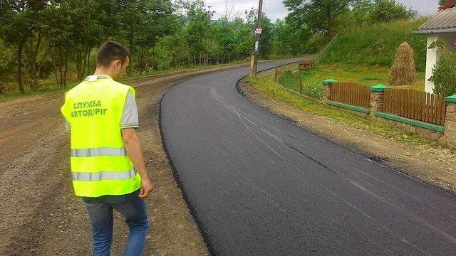 У гірських районах Львівщини ремонтують дороги