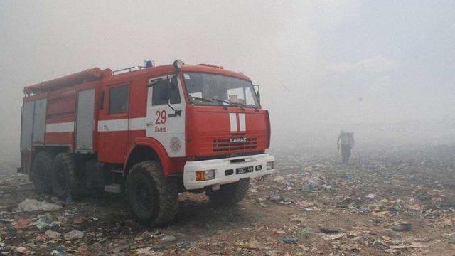 СБУ з'ясує причини пожежі на Грибовицькому сміттєзвалищі