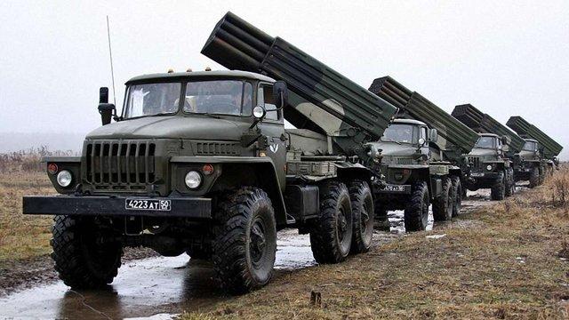 Бойовики стягнули до лінії розмежування 56 танків, 50 артилерійських систем та 37 «Градів»