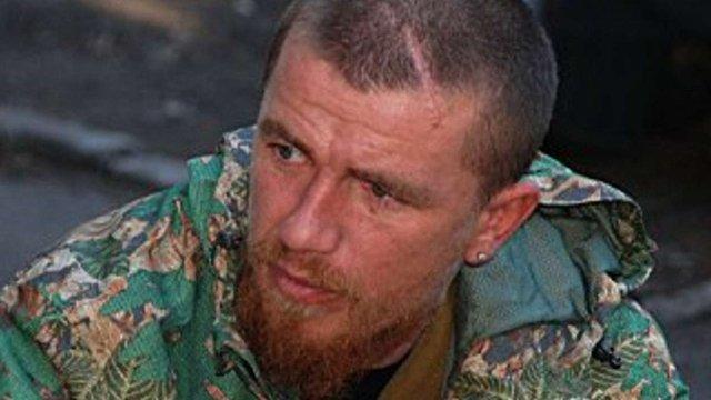 Осколок влучив у ліве око російського польового командира «ДНР»
