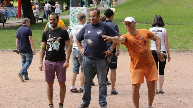 У Львові триває 5-й міжнародний турнір з петанку