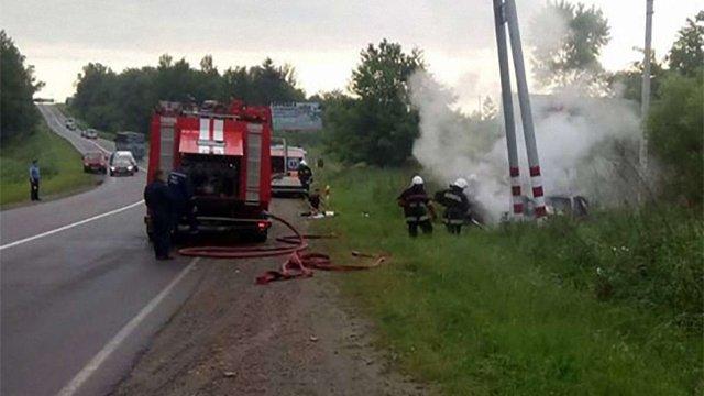 У ДТП поблизу Трускавця загинули дві жінки