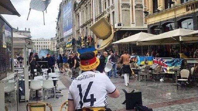 Німецькі фанати напали на українців перед матчем Євро-2016 у Франції