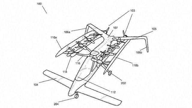 Співзасновник Google купив два стартапи-конкуренти з розробки літаючих автомобілів