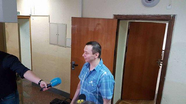 Засуджений до 13 років в'язниці акордеоніст Ігор Завадський вийшов на волю