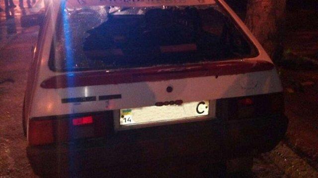 Львівські патрульні «на гарячому» затримали злодія в чужому авто