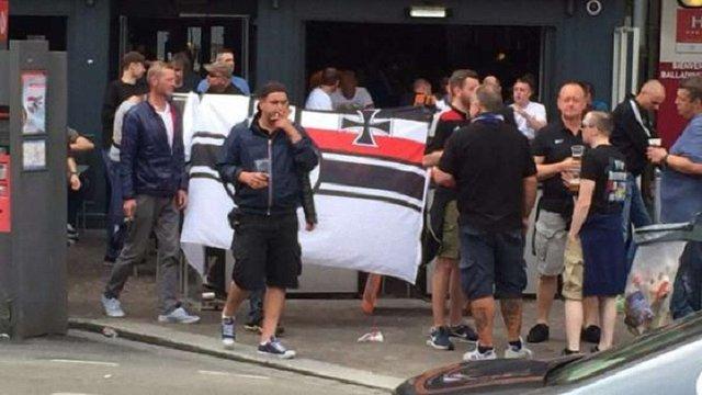 Німці, які напали на українців під час Євро-2016, виявились фанатами дрезденського «Динамо»