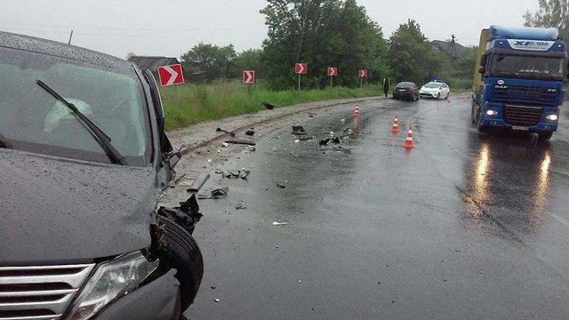 В автопригоді на Львівщині постраждали шестеро киян, зокрема троє дітей