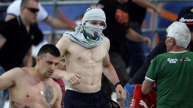 Серед російських фанатів на Євро-2016 у Франції виявили бойовиків «ДНР»