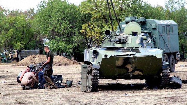 Голова Верховної Ради підтвердив, що державі не вистачає грошей для ремонту бронетехніки