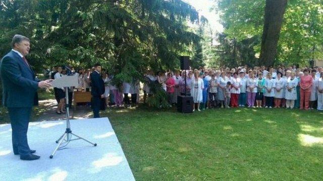 Під час проведення АТО на Донбасі загинули 35 військових медиків, – Порошенко
