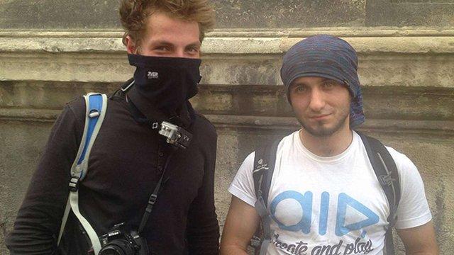 Поліція затримала двох руферів на даху львівського костелу Єзуїтів