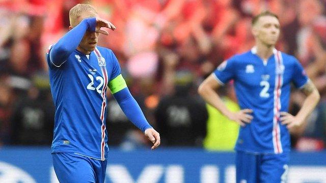 Збірна Ісландії на останніх хвилинах втратила першу перемогу на Євро-2016