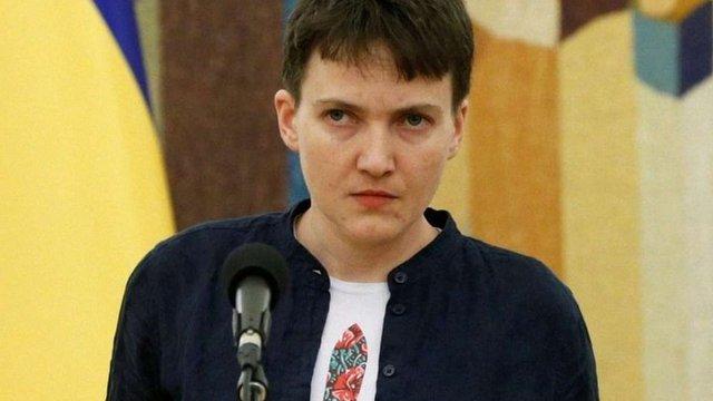 Надія Савченко полетіла на сесію ПАРЄ
