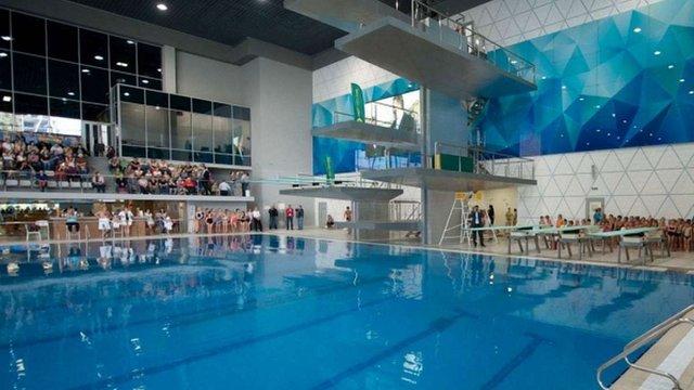 Україна подала заявку на проведення чемпіонату Європи зі стрибків у воду