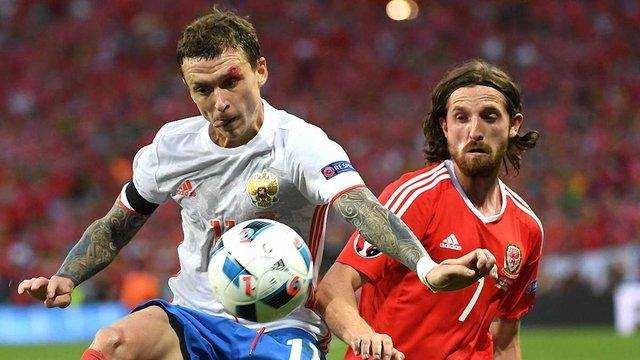 Збірна Росії зазнала розгрому від Уельсу і покинула Євро-2016