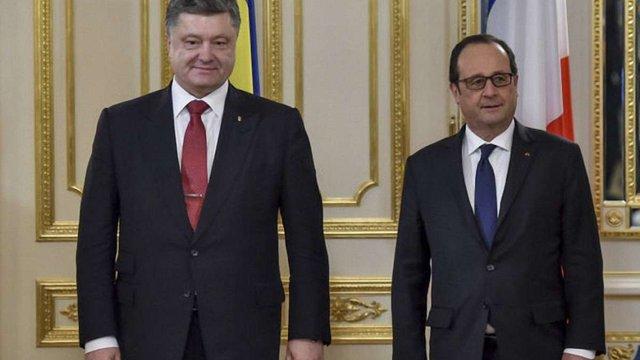 Олланд і Порошенко анонсували зустріч лідерів країн «нормандської четвірки»