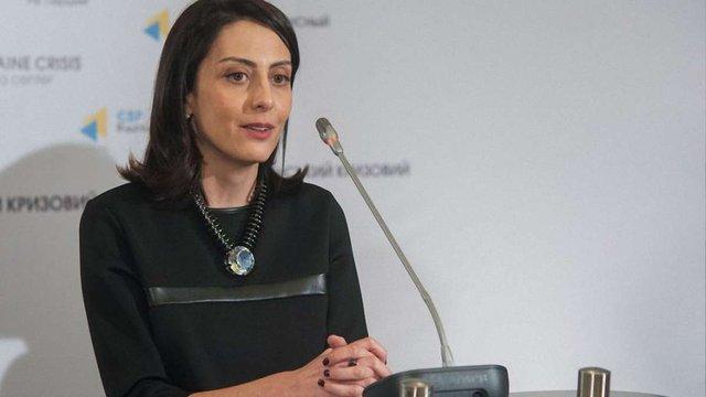 Деканоідзе визнала, що корупцію в поліції поки що подолати не вдалося