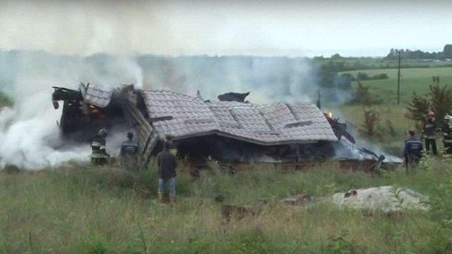 Неподалік Львова вщент згорів житловий будинок