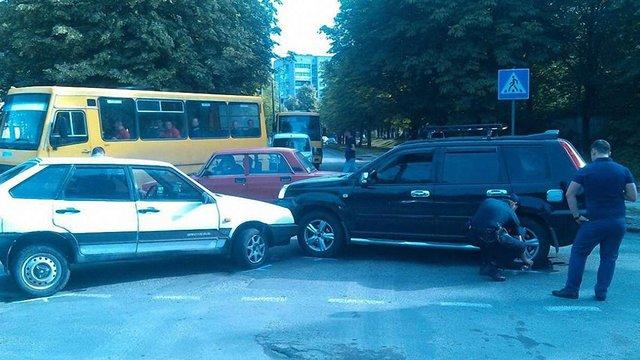 Нетверезого водія львівська поліція покарала за ДТП та хуліганство