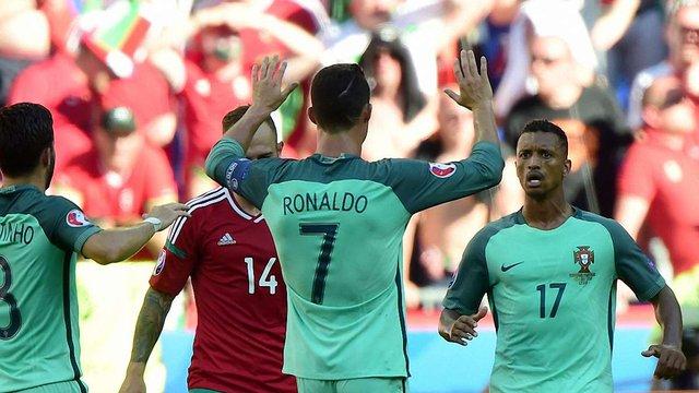 Угорщина та Португалія видали найбільш результативний матч Євро-2016