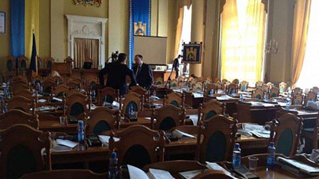 У сесійній залі Львівської міськради встановили додаткові камери спостереження