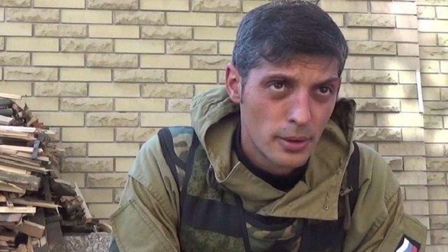 Генпрокуратура оголосила офіційну підозру ватажку бойовиків «Гіві»