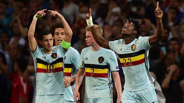 Бельгія влаштувала найбільший розгром Євро-2016 на шляху до чвертьфіналу