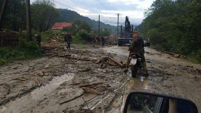 У гірському селі на Закарпатті підтопило 33 господарства