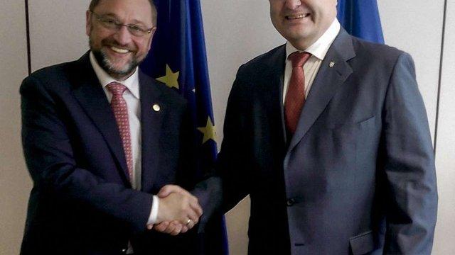 Україна і ЄС проводять саміт у вузькому колі