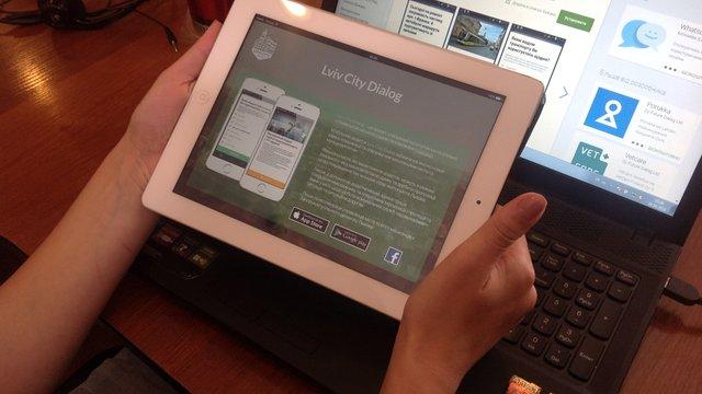 Львівська міськрада створила мобільний додаток для соцопитування мешканців