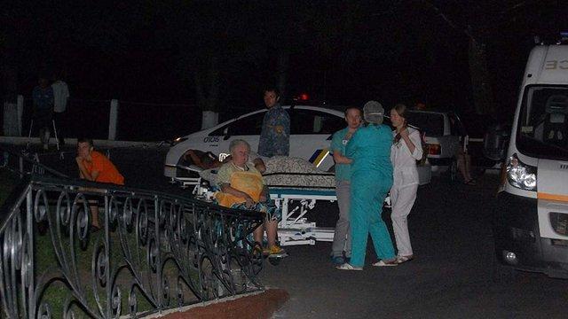 У Луцьку вночі евакуювали пацієнтів лікарні через повідомлення про вибухівку
