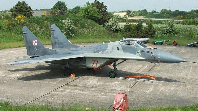 Польські винищувачі МіГ-29 оснастять українськими ракетами