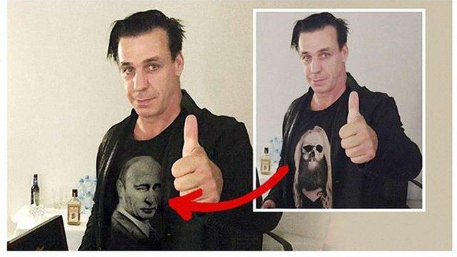 Лідер Rammstein став жертвою російської пропаганди