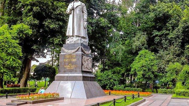 Пам'ятник радянському генералу Ватутіну біля ВРУ не підлягає демонтажу, – В'ятрович