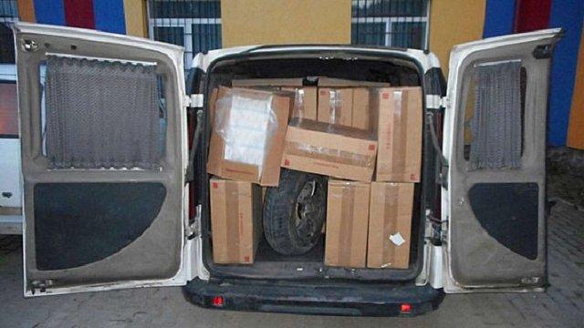 На кордоні з Румунією поліція вилучила партію контрабандних сигарет