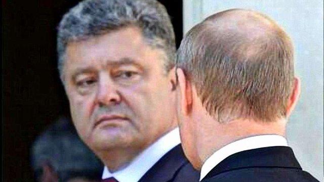 Порошенко пояснив, про що спілкується з Путіним телефоном