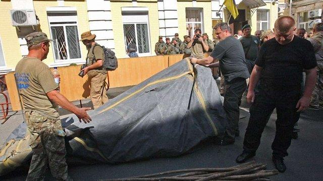 Комбата «Айдару» захищають від СІЗО бійці трьох  добровольчих батальйонів