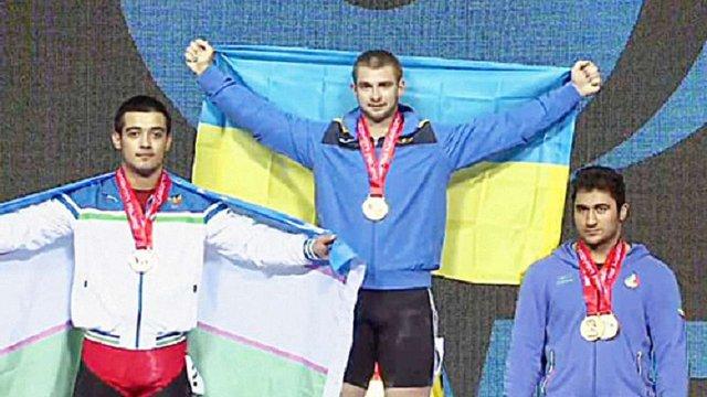 Важкоатлет з Львівщини виборов золоту медаль на чемпіонаті світу серед юніорів