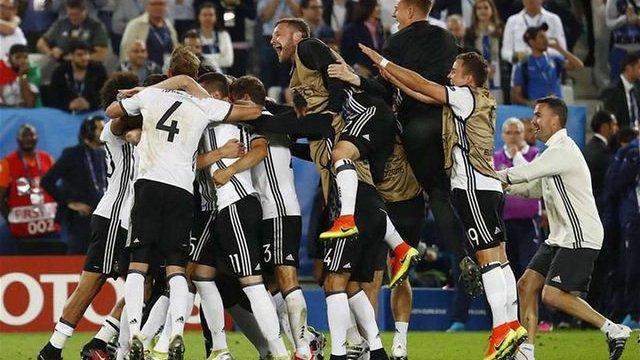 До півфіналу Євро-2016 пройшла збірна Німеччини