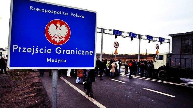 З цієї ночі Польща призупинить малий прикордонний рух для українців