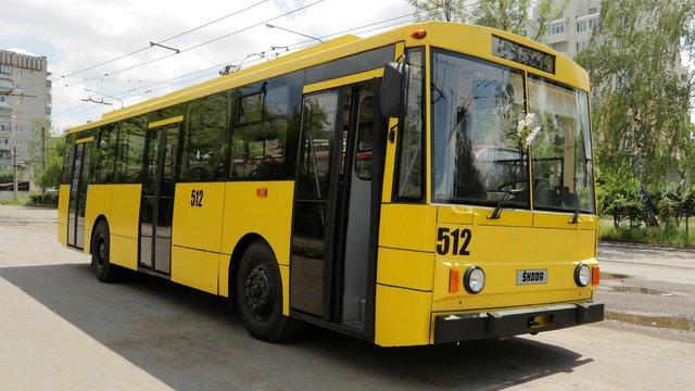 На маршрут у Львові виїхав модернізований тролейбус Skoda