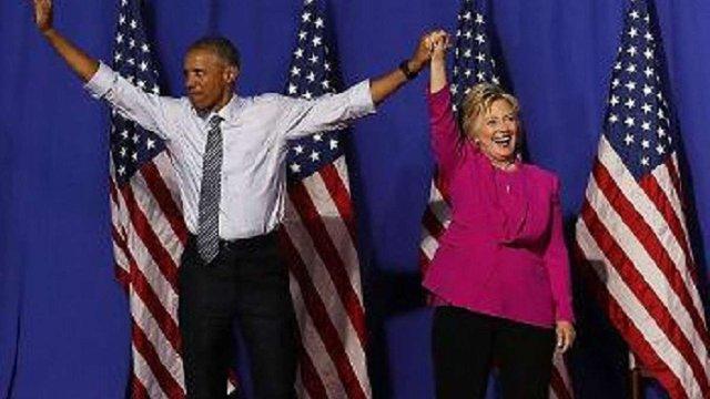 Барак Обама вперше виступив на мітингу в підтримку Гілларі Клінтон