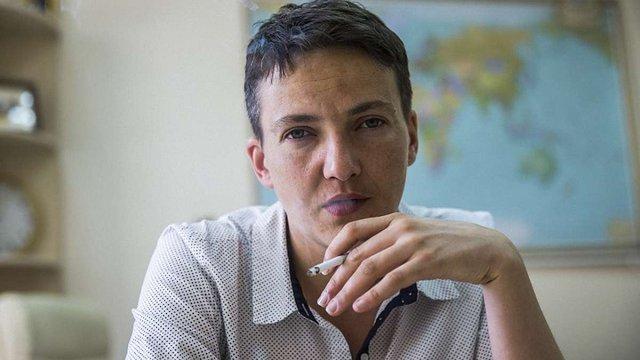 Надія Савченко розповіла про прямі переговори з бойовиками «ДНР» та «ЛНР»